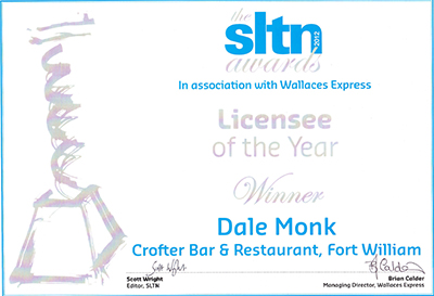 Licensee of the year winner - Dale Monk